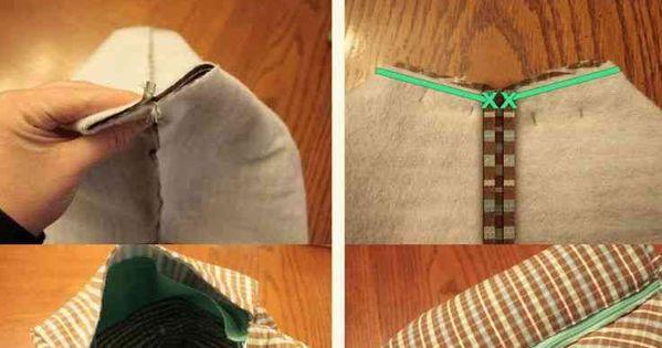 voici une id e pour r aliser un sac et la pochette assortie bien pratique peu de frais avec. Black Bedroom Furniture Sets. Home Design Ideas
