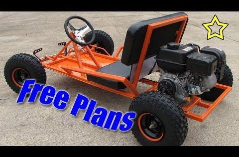 go kart build free plans pdf download youtube. Black Bedroom Furniture Sets. Home Design Ideas