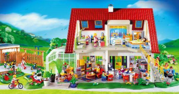 Playmobil Suburban House Toys Pinterest House