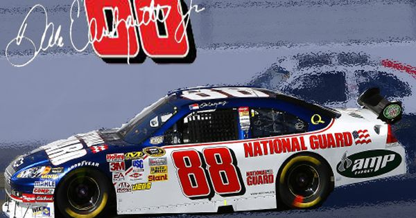Dale Earnhardt Jr. - my favorite NASCAR driver (: