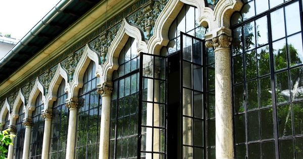 Neo romanian architectural style the central school for - Romanian architectural styles ...