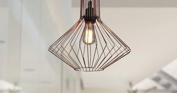 id e suspension cuivre pour chambre 39 90 euros chez leroy merlin consoles pinterest. Black Bedroom Furniture Sets. Home Design Ideas