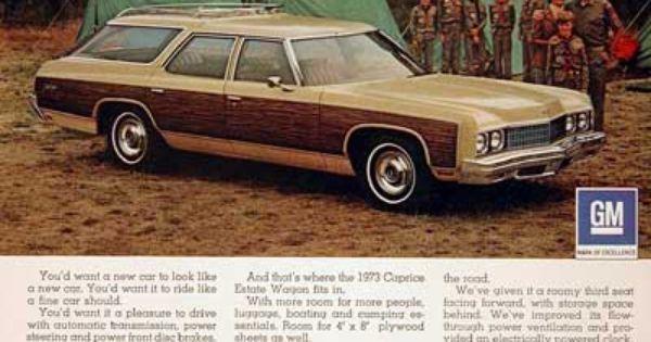 1973 Chevrolet Caprice Estate Station Wagon Original