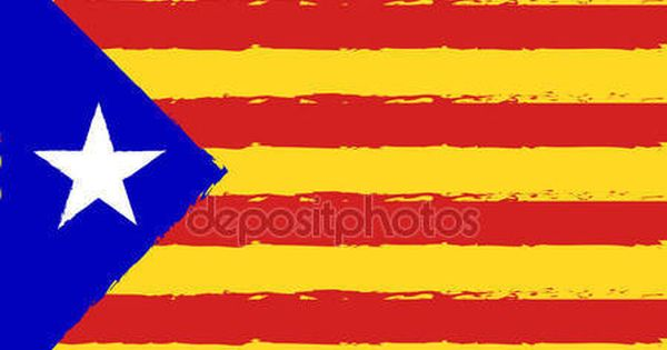 Download Catalonia Flag Red And Yellow Color Stripes Colorful Brush Strokes Painted National F Texture Painting Patriotic Background Brush Strokes Painting