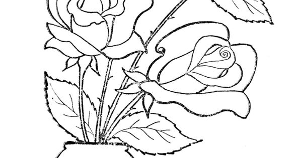 Free Coloring Pages For Adults Free Flower Coloring Book