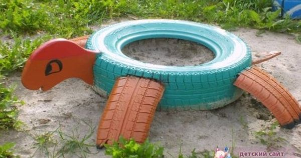 Old Tires And DIY And Crafts On Pinterest
