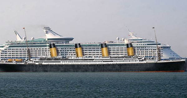 Modern Cruise Ship Compared To The Titanic  Ships Amp Boats