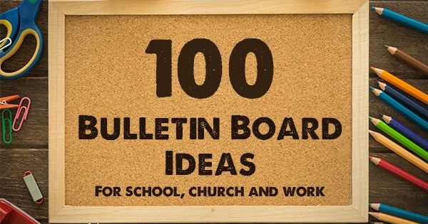 Classroom Quote Ideas ~ Bulletin board ideas and themes for school church