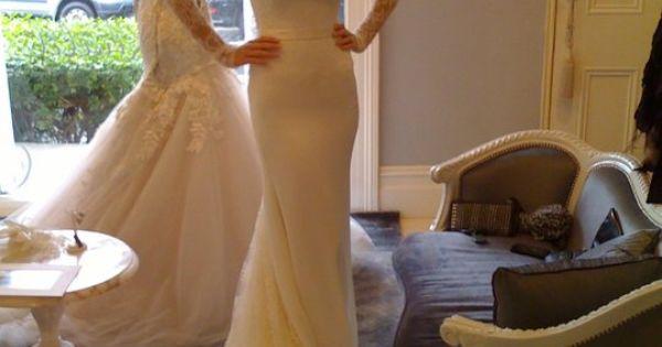 Lace Sleeve Wedding Dress By Steven Khalil Kasal