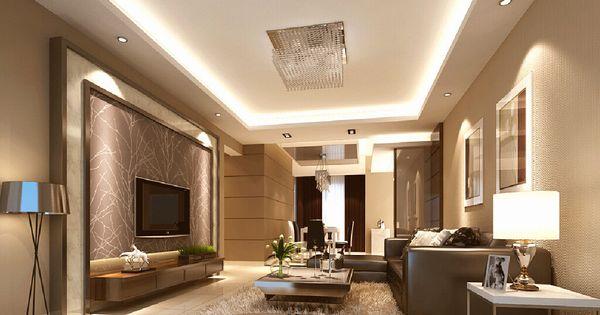 An area rug adds texture to this minimalist design - Minimalist - beleuchtung für wohnzimmer