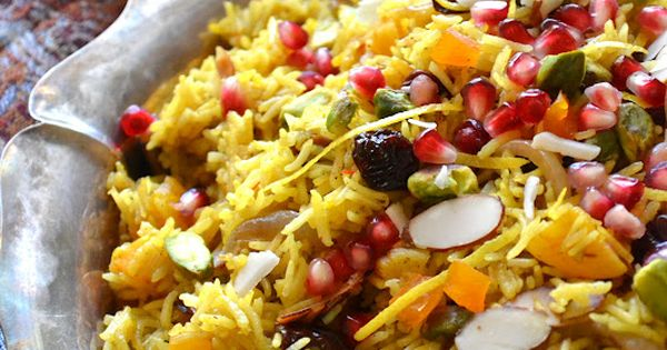 Persian Jeweled Rice- never heard of this rice even though I grew