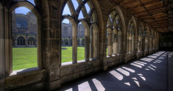 Walkway Durham Cathedral Durham City Cathedral
