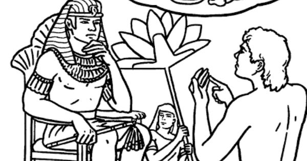 joseph pharaohs dreams coloring pages - photo#22