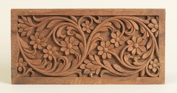 Sample panel quot wood carving