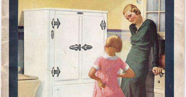 Frigidaire 1931 booklet cover publicidad - Electrodomesticos retro ...
