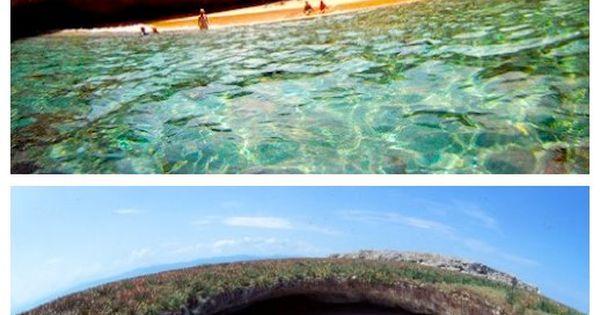 Hidden Beach on Marieta Islands, Puerto Vallarta, Mexico