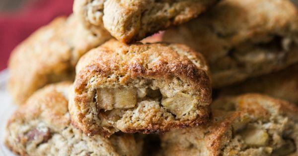 Apple-Pecan Whole Wheat Scones | Recipe | Scones, Pecans and Naturally ...