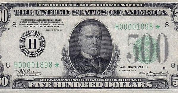 Billetes De Dolar Que Crees Falsos Pero Que Si Valen Cero
