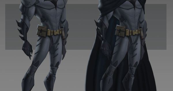 Pixar x Bruce Timm inspired Batman | Designer: Daniel Araya - danielaraya.devia...