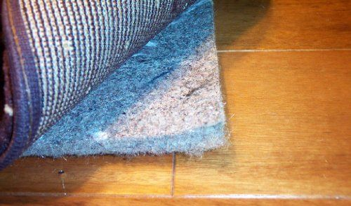 12 X 15 Koeckritz Tm 40oz 1 2 Thick Recycled Jute Felt Rug Pad In 2020 Area Rug Pad Rugs On Carpet Rugs