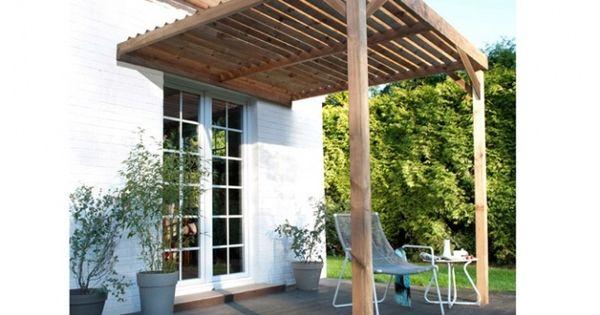 terrasse jardin pergola bois photo castorama ext rieures pinterest pergola bois. Black Bedroom Furniture Sets. Home Design Ideas