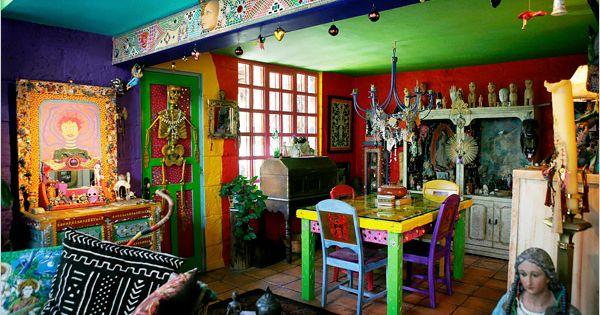 Casa De Los Colores The New York Times Home Garden Interior