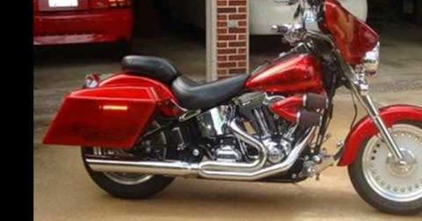 Harley Davidson Fatboy Red