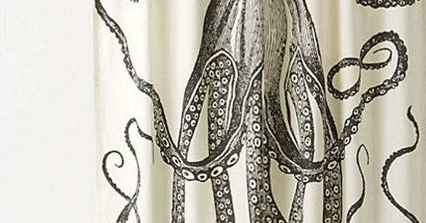 Octopus Garden Shower Curtain | Gardens, I love and Love this