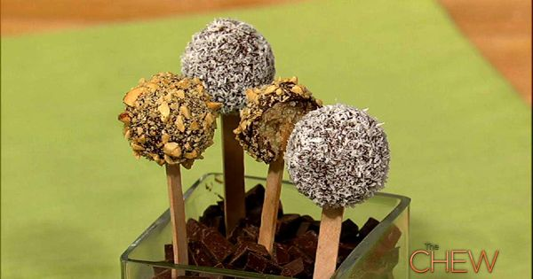 Carla Hall's Cake Pops recipes