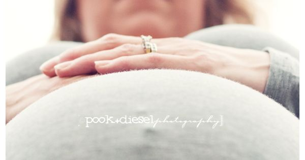 Love this maternity shot. Different view