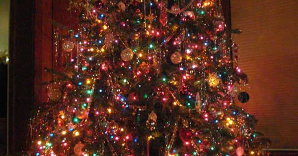 Your Real Estate Resource Colour Light Christmas Tree