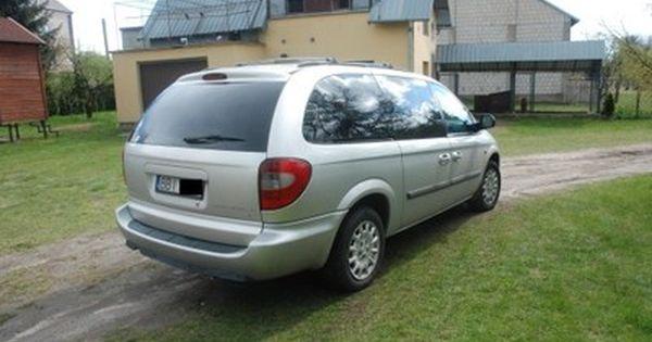 Chrysler Grand Voyager 3 3l Srebrny Benzyna Lpg 6796812089 Oficjalne Archiwum Allegro Chrysler Voyage Grands