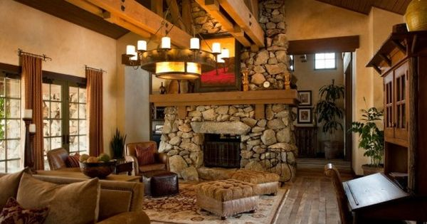 Ranch style living rooms with its design influenced by for Ranch style living room