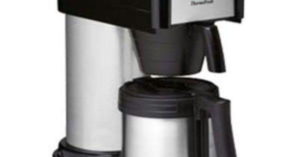 Mr Coffee Thermal Gourmet Coffee Maker : SALE Bunn BTX 10-Cup Thermal Carafe Coffee Maker Drip Coffee Maker Pinterest Coffee maker