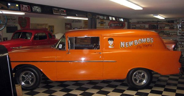 1956 chevrolet sedan delivery in movie the hollywood
