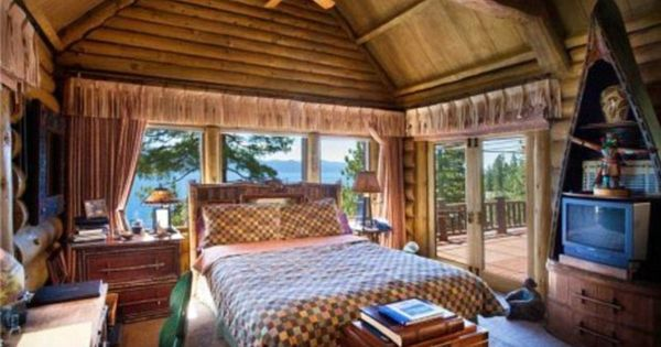 Cabin Bedroom Ideas For New Home Pinterest Cabin Bedrooms Cabin