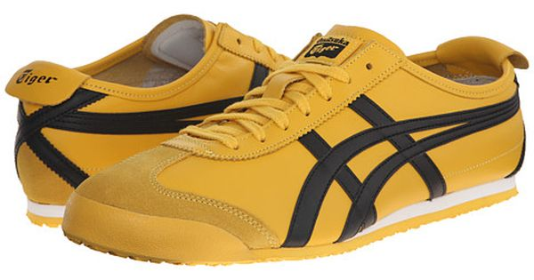 Onitsuka tiger by asics mexico 66 yellow black + FREE
