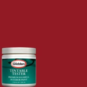 Glidden Premium 8 Oz Red Delicious Interior Paint Tester Glr30 D8 At The Home Depot Interior Paint Green Interior Paint White Interior Paint