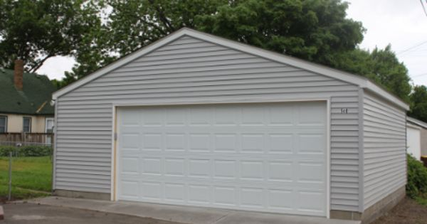 A 24x24 Detached Garage Size Is Great If You Have The Room Like