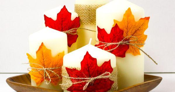 30 diy thanksgiving decoration ideas to setup a fall for Thanksgiving home decorations pinterest
