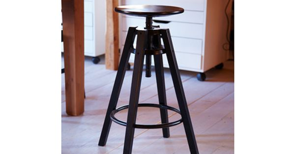Dalfred bar stool ikea height adjustable seat for added comfort footrest for extra sitting - Tall stool ikea ...