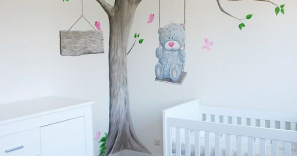 Babykamer Ideeen Bruin : muurschildering babykamer - Google zoeken ...