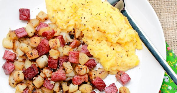 Corned beef hash, Beef hash and Creamy horseradish sauce on Pinterest