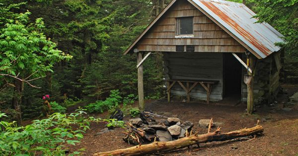 Roan high knob shelter appalachian trail by uva appalachian trail appalachian trail - Appalachian container cabin ...