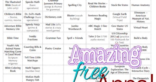 FREE apps for teachers
