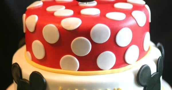 Mickey cake idea