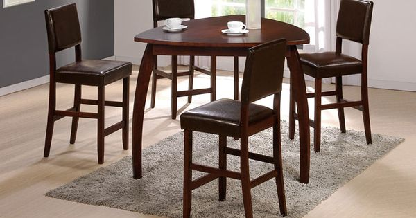 47 enrica triangle counter high dining table set monstermarketplace games pinterest - Triangle kitchen table set ...