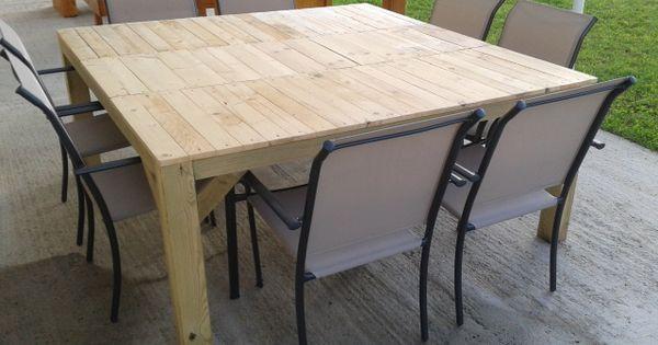 Table carre de salon exterieur instructions de montage - Table salon exterieur ...