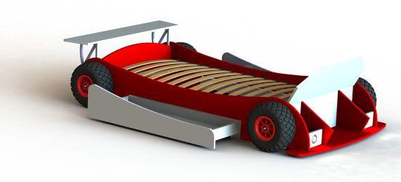 Diy Plans Twin Race Car Bed Plans Twin Size By Friendbeworkshop