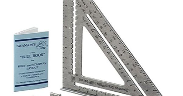 Swanson Tool So107 12 Inch Speed Square Carpentry Squares Amazon Com Speed Square Triangle Square Mitered Square